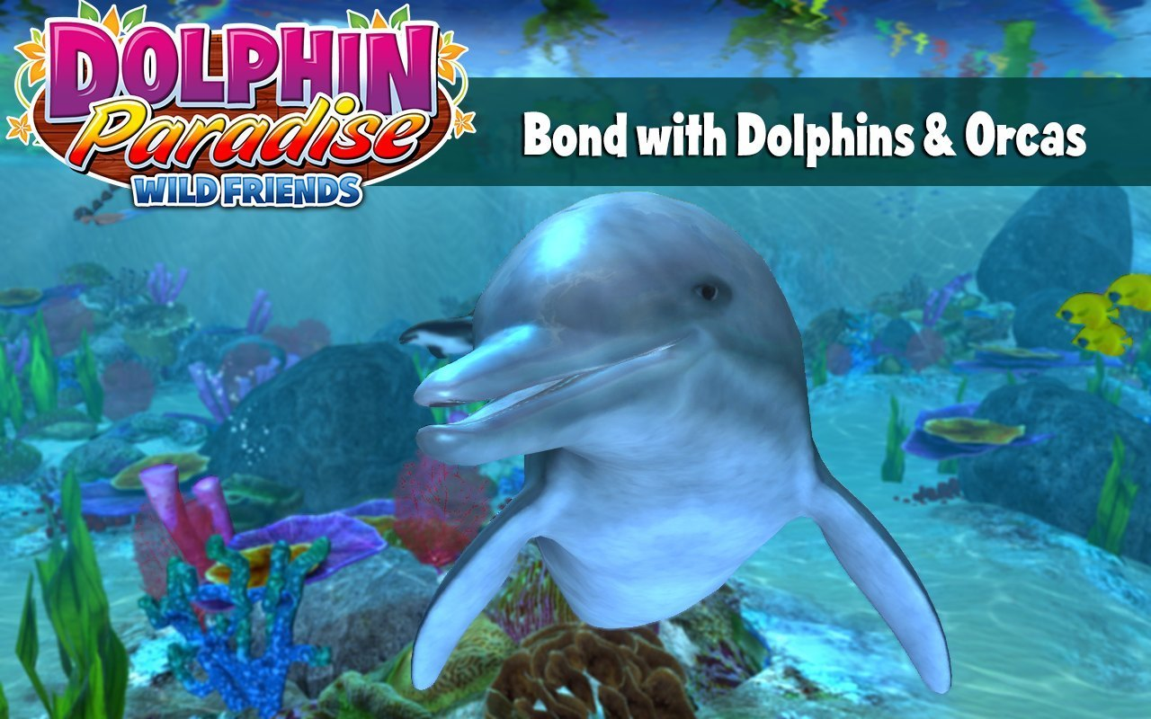 Screenshot 1 for Dolphin Paradise: Wild Friends