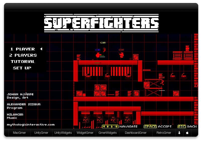 Screenshot 1 for Superfighters