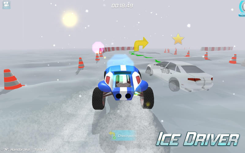 Screenshot 3 for Ice Driver