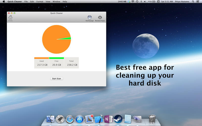 Screenshot 1 for Quick Cleaner
