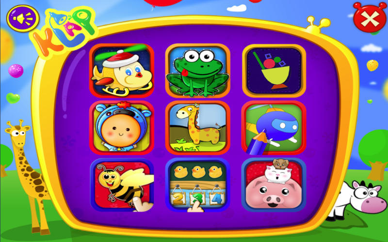 Screenshot 1 for Kid's Literacy Games