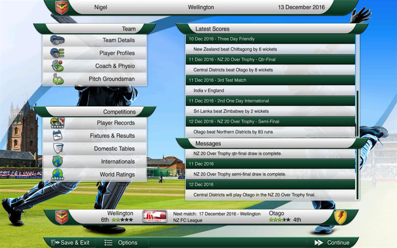 Screenshot 4 for Cricket Captain 2016