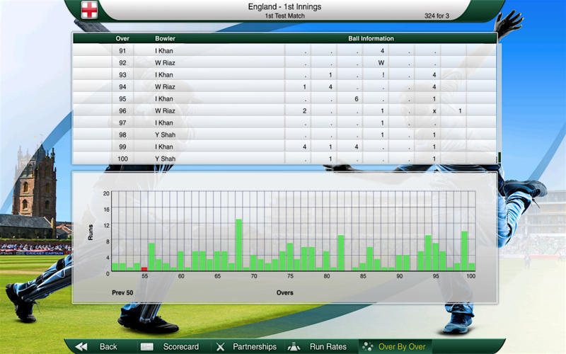 Screenshot 5 for Cricket Captain 2016