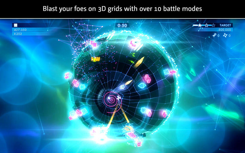 Screenshot 4 for Geometry Wars 3: Dimensions