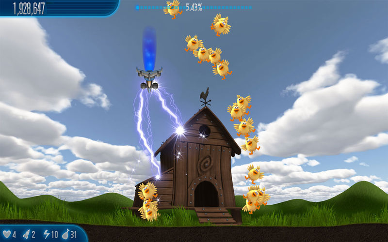 Screenshot 2 for Chicken Invaders 5