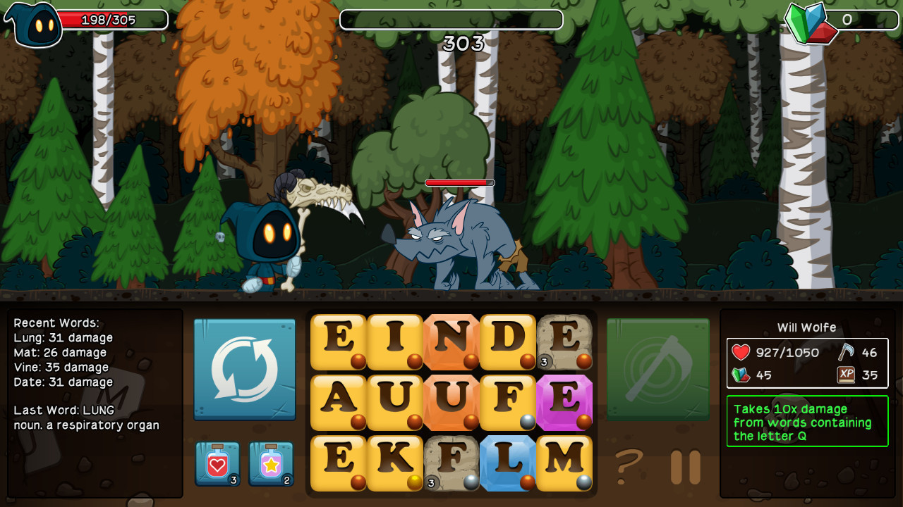 Screenshot 1 for Letter Quest: Grimm's Journey