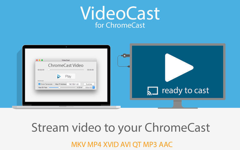 Screenshot 1 for VideoCast for ChromeCast