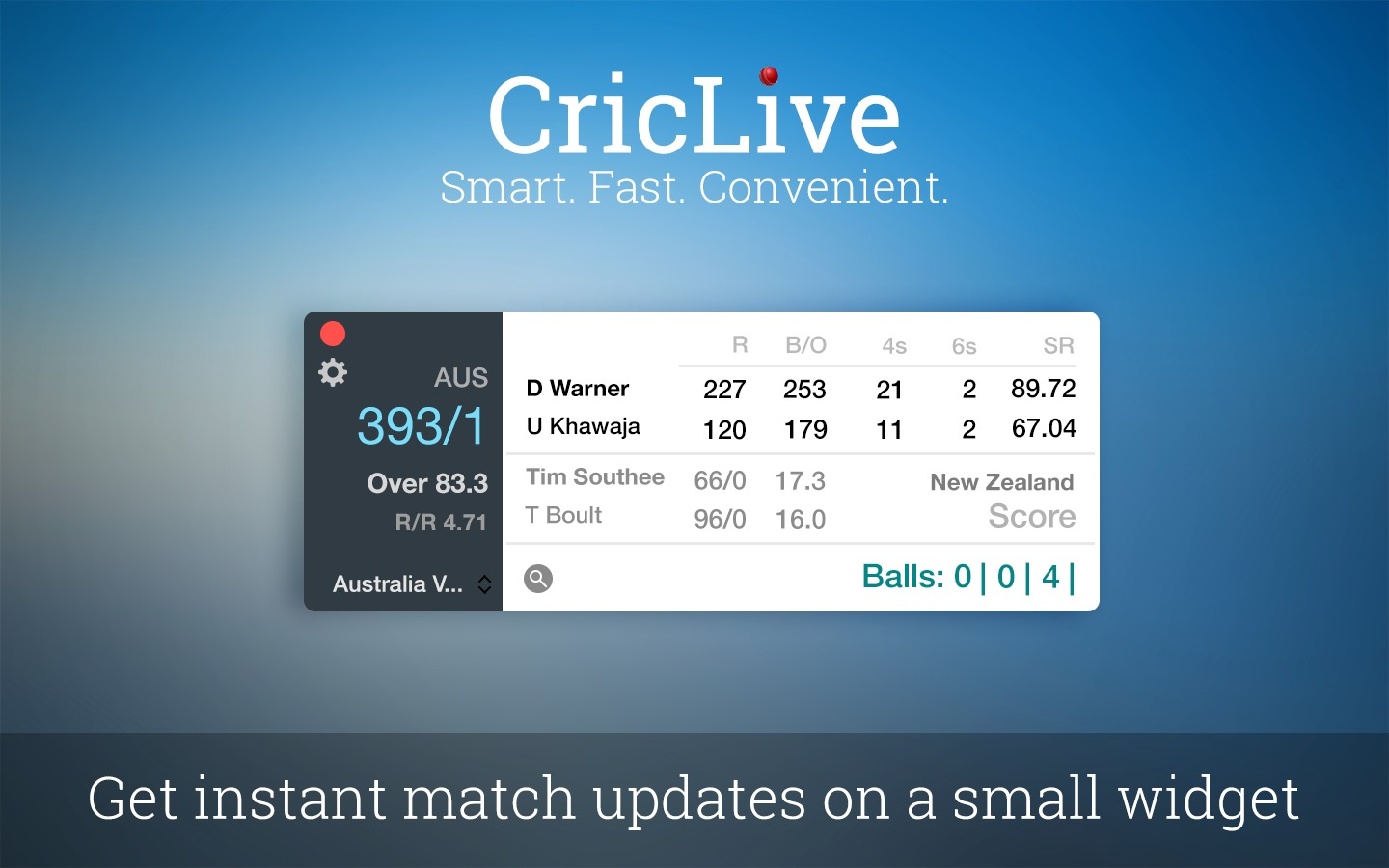 Screenshot 1 for CricLive