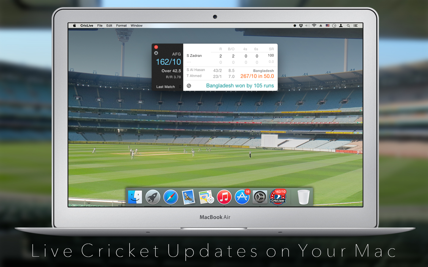 Screenshot 2 for CricLive