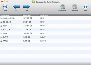 Screenshot 3 for Sunyouth Data Recovery