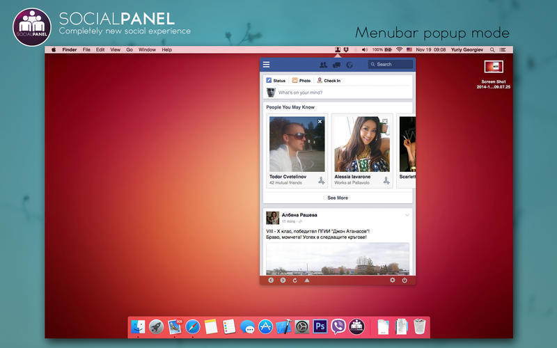 Screenshot 5 for SocialPanel