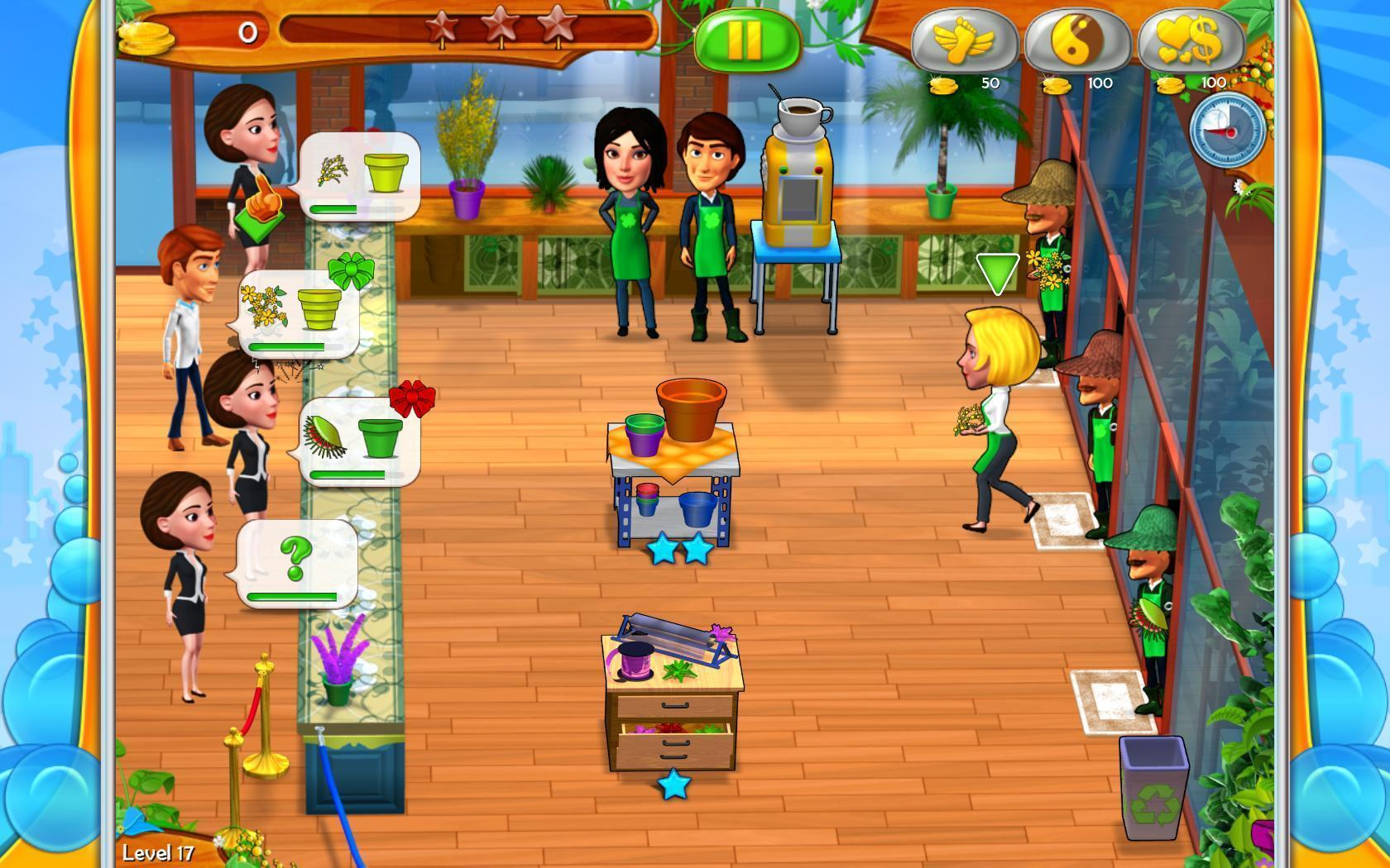 Screenshot 1 for Garden Shop - Rush Hour!