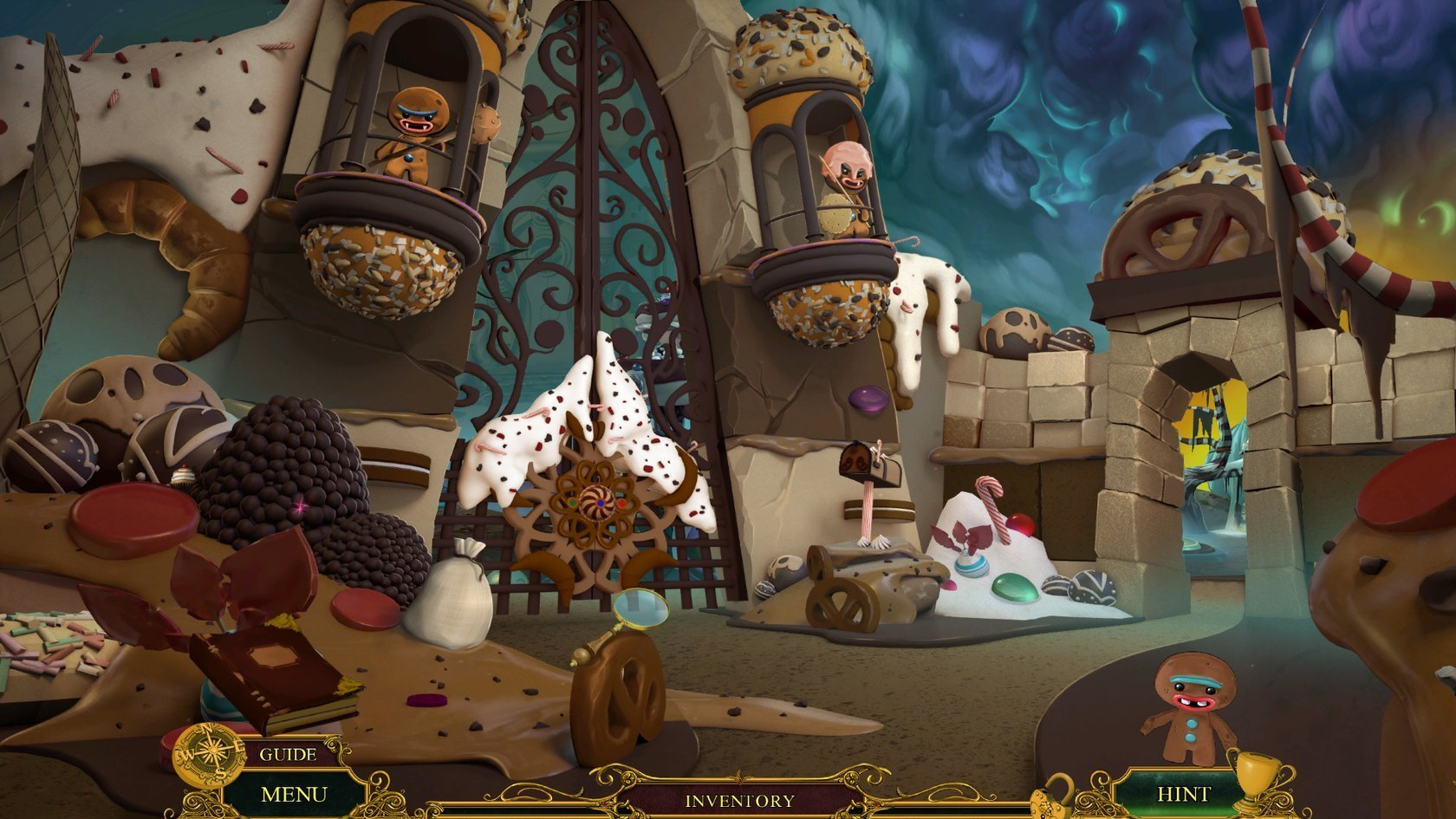 Screenshot 1 for Fearful Tales: Hansel and Gretel Collector's Edition