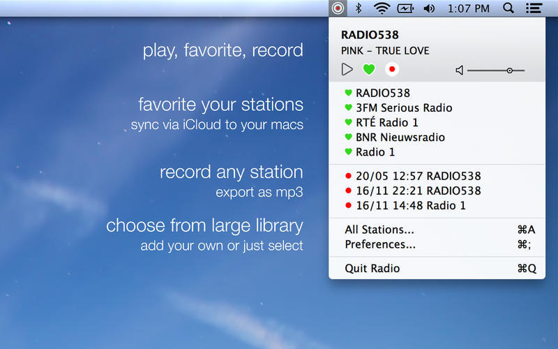 Screenshot 1 for Radio