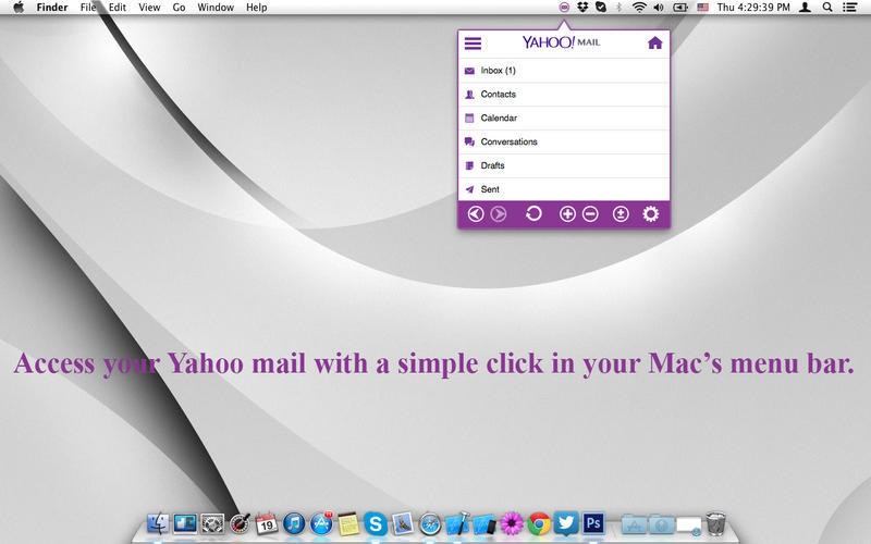 Screenshot 1 for YMailTab