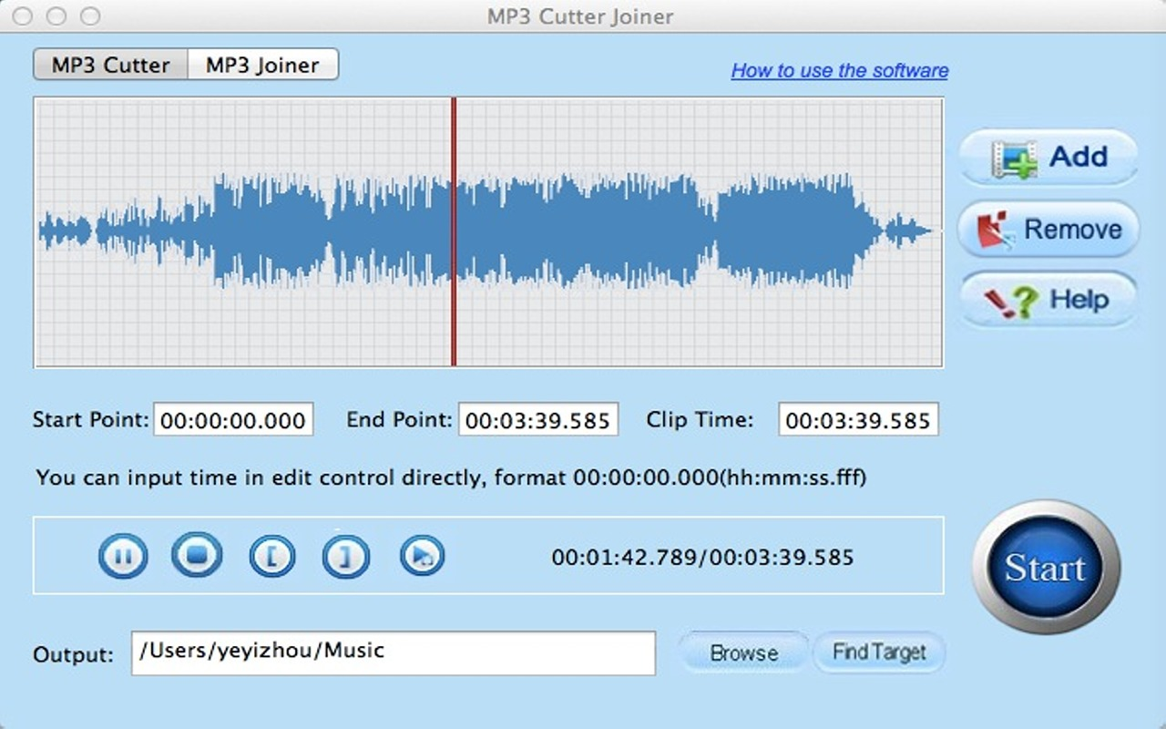 Free Mp3 Cutter Joiner 4 0 Free Download For Mac Macupdate