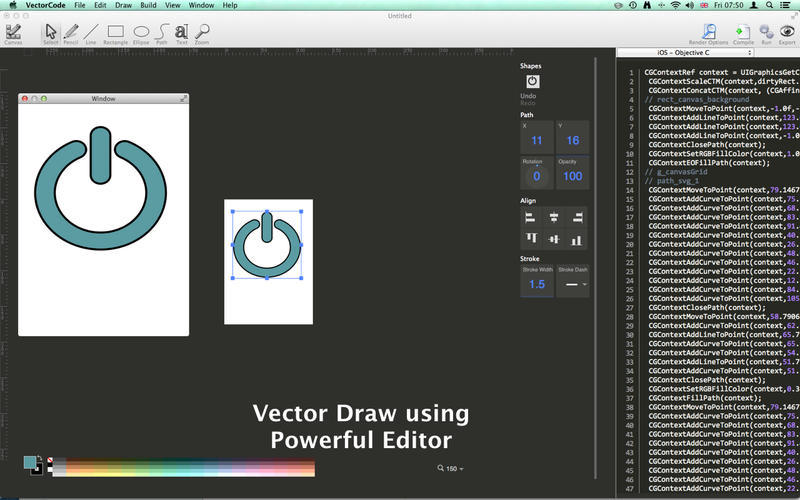 Screenshot 2 for Vector Code