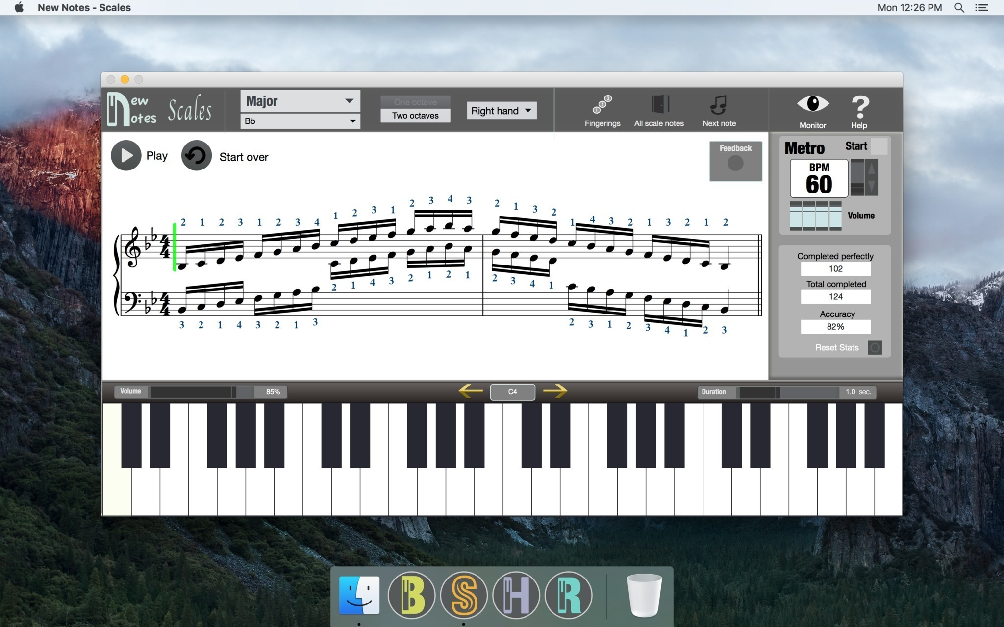 Screenshot 1 for New Notes - Scales