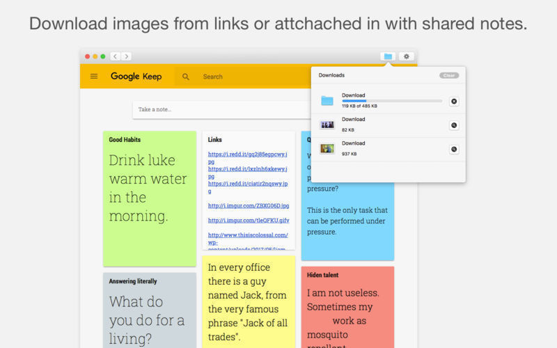 Screenshot 5 for Notes for Google Keep