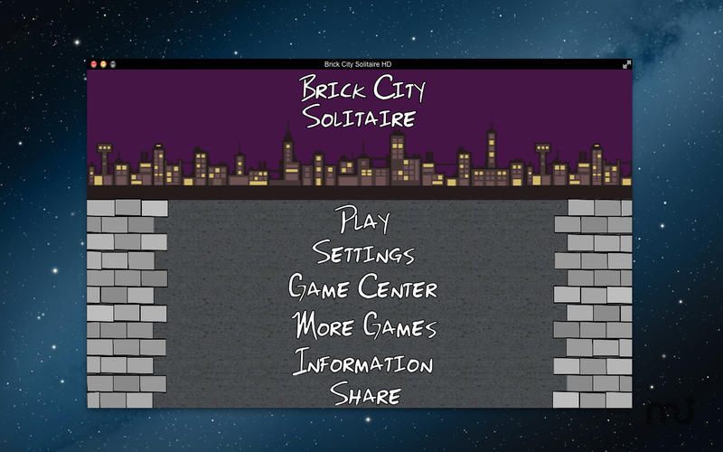 Screenshot 3 for Brick City Solitaire