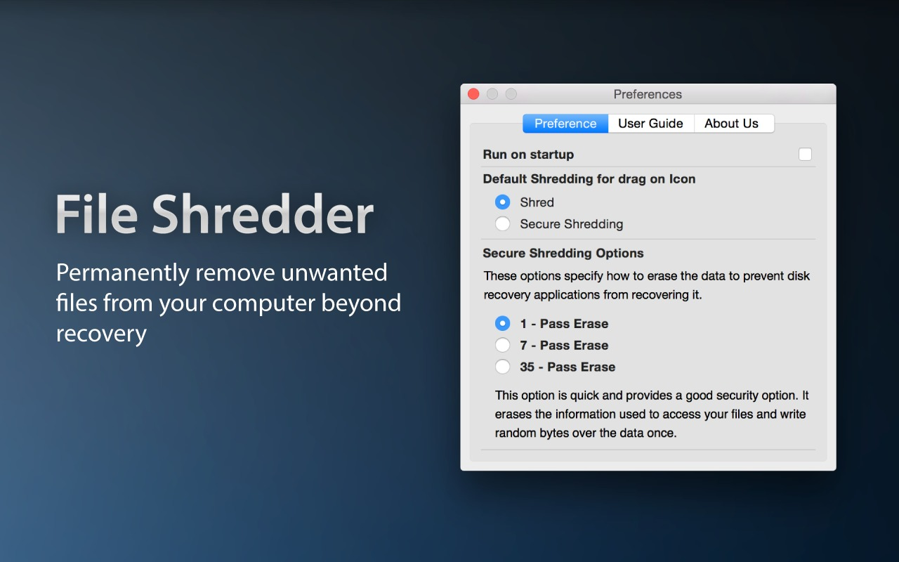 Screenshot 1 for File Shredder