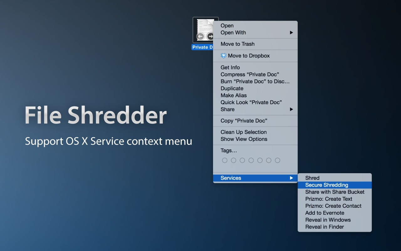 Screenshot 2 for File Shredder