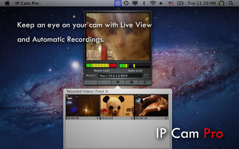 Screenshot 2 for IP Cam Pro