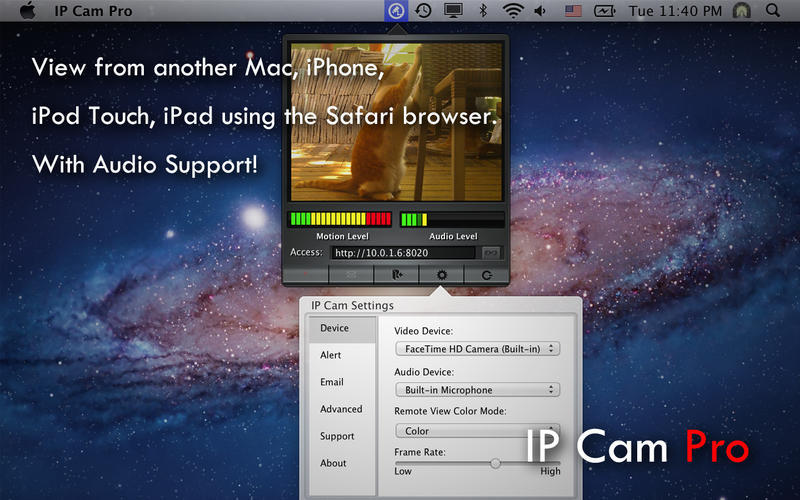 Screenshot 3 for IP Cam Pro