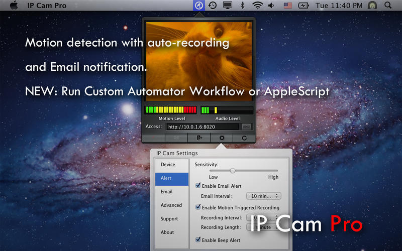 Screenshot 4 for IP Cam Pro