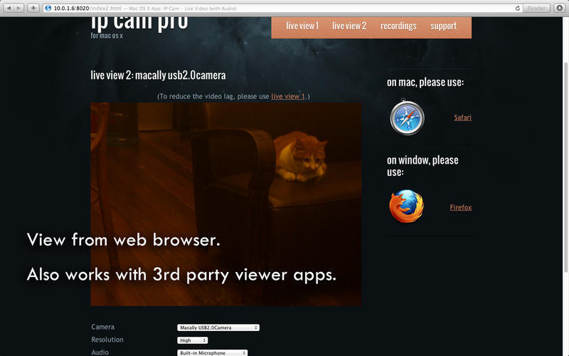 Screenshot 5 for IP Cam Pro
