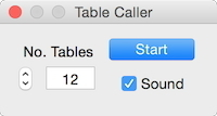 Screenshot 1 for Table Caller