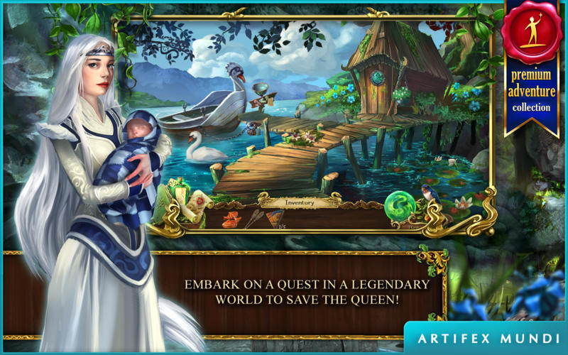 Screenshot 1 for Grim Legends 2: Song of the Dark Swan