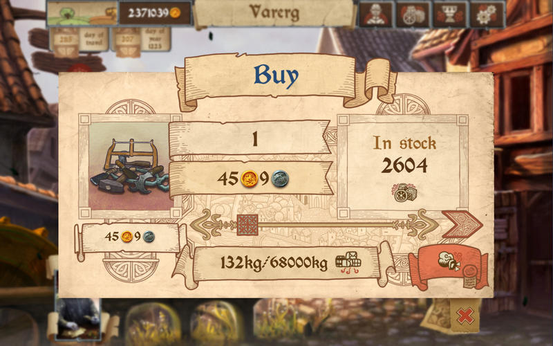 Screenshot 2 for Merchants of Kaidan