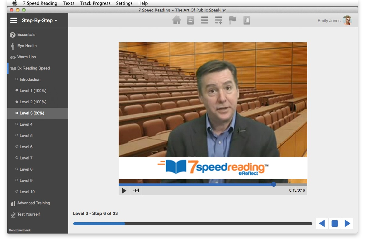 Screenshot 1 for 7 Speed Reading