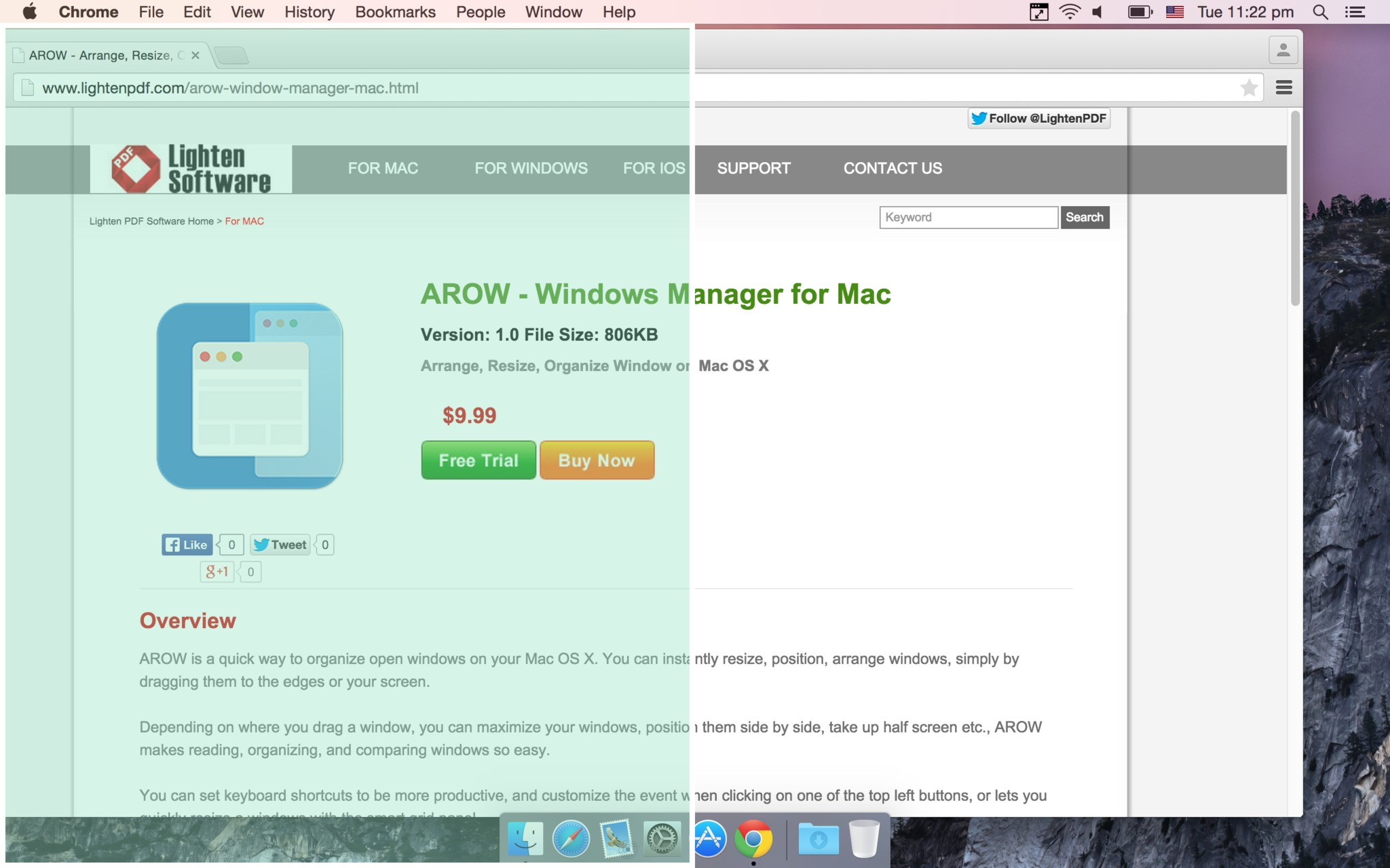 Screenshot 1 for AROW