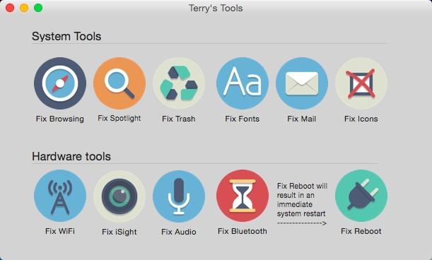Screenshot 1 for Terrys Tools