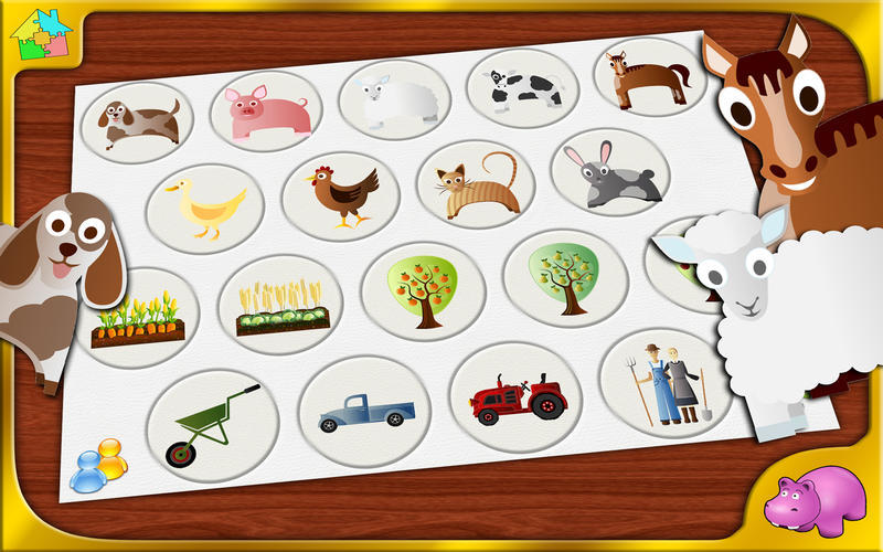 Screenshot 1 for Farm Jigsaw Puzzle