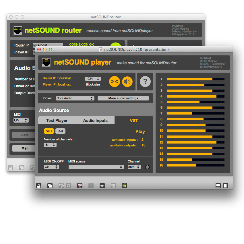 Screenshot 1 for NetSOUND