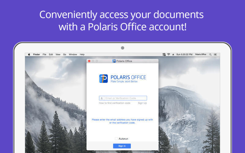 Screenshot 2 for Polaris Office Sync