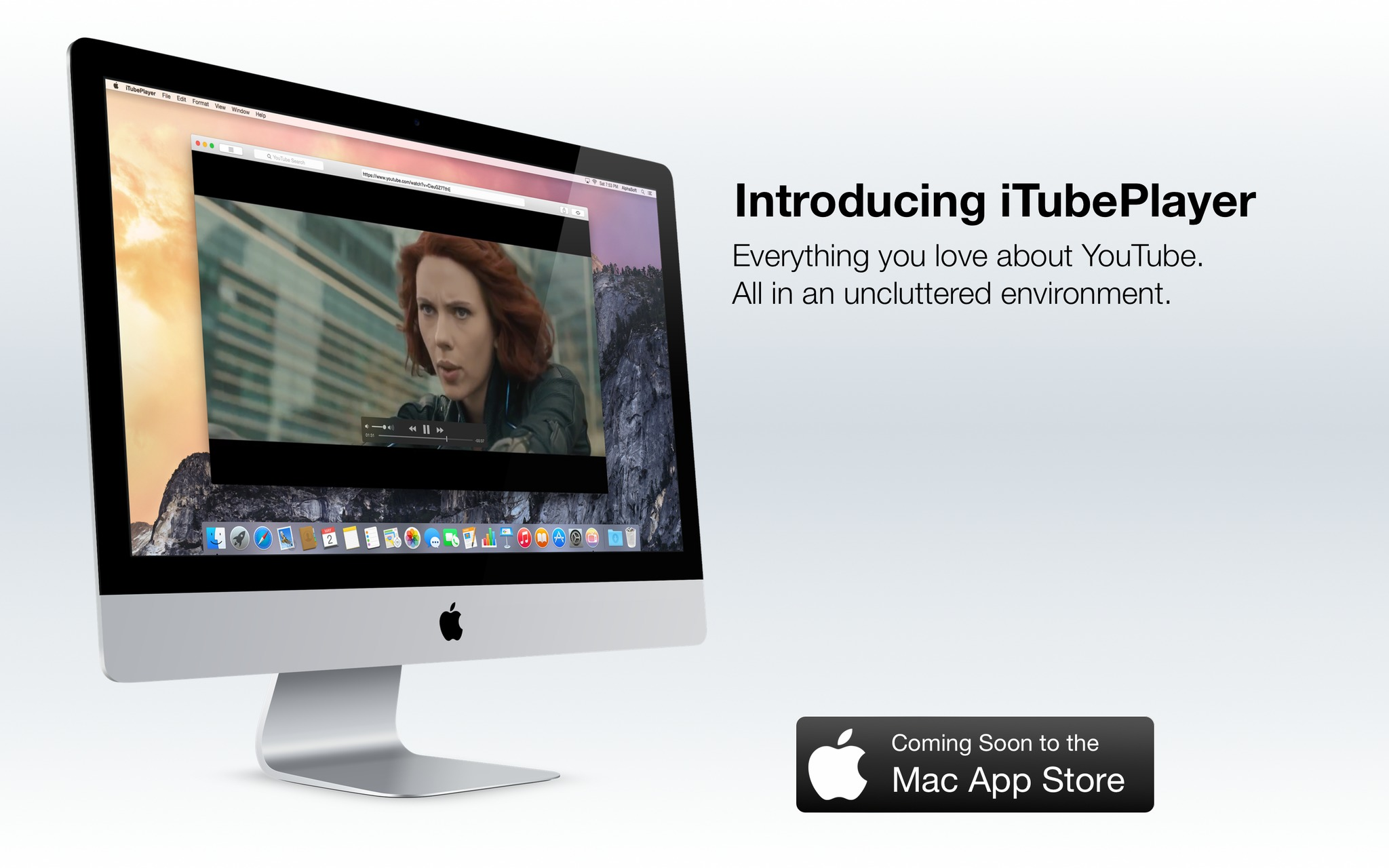 Screenshot 1 for iTubePlayer