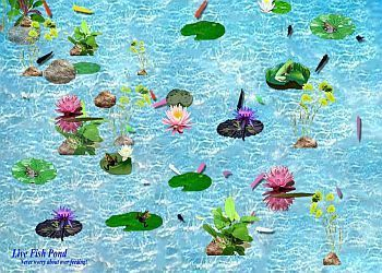 Screenshot 1 for Interactive Fish Pond Game