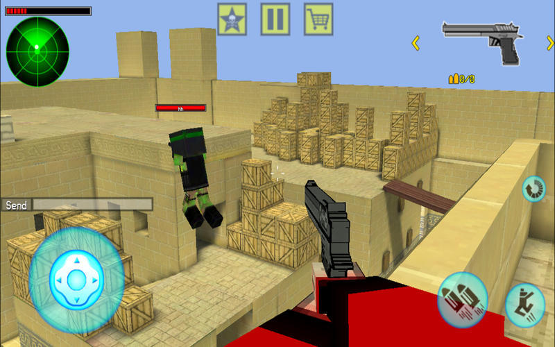 Screenshot 1 for Block Shooter