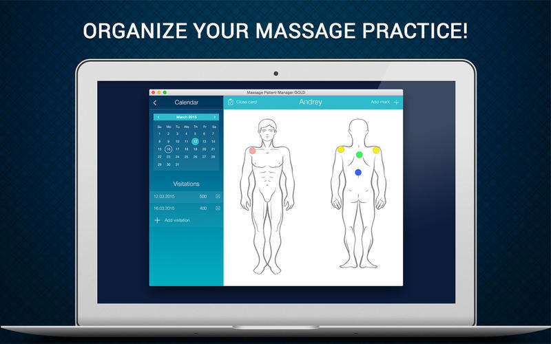 Screenshot 1 for Massage Patient Manager