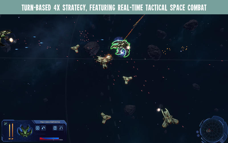 Screenshot 1 for StarDrive 2