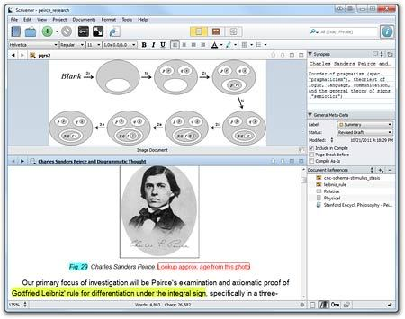 Screenshot 1 for Scrivener (Windows)