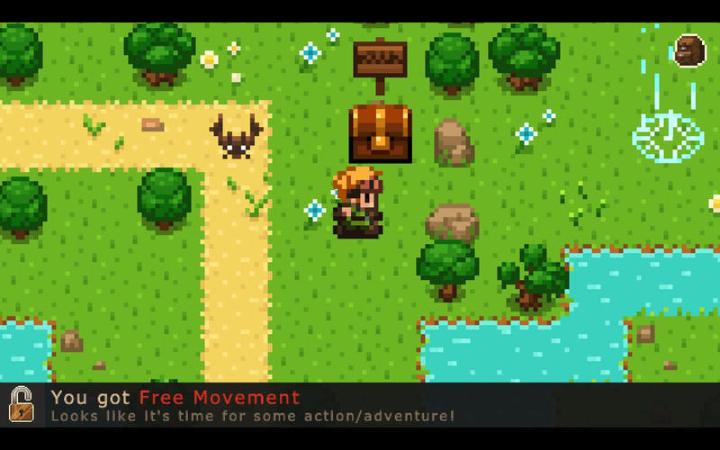 Screenshot 1 for Evoland