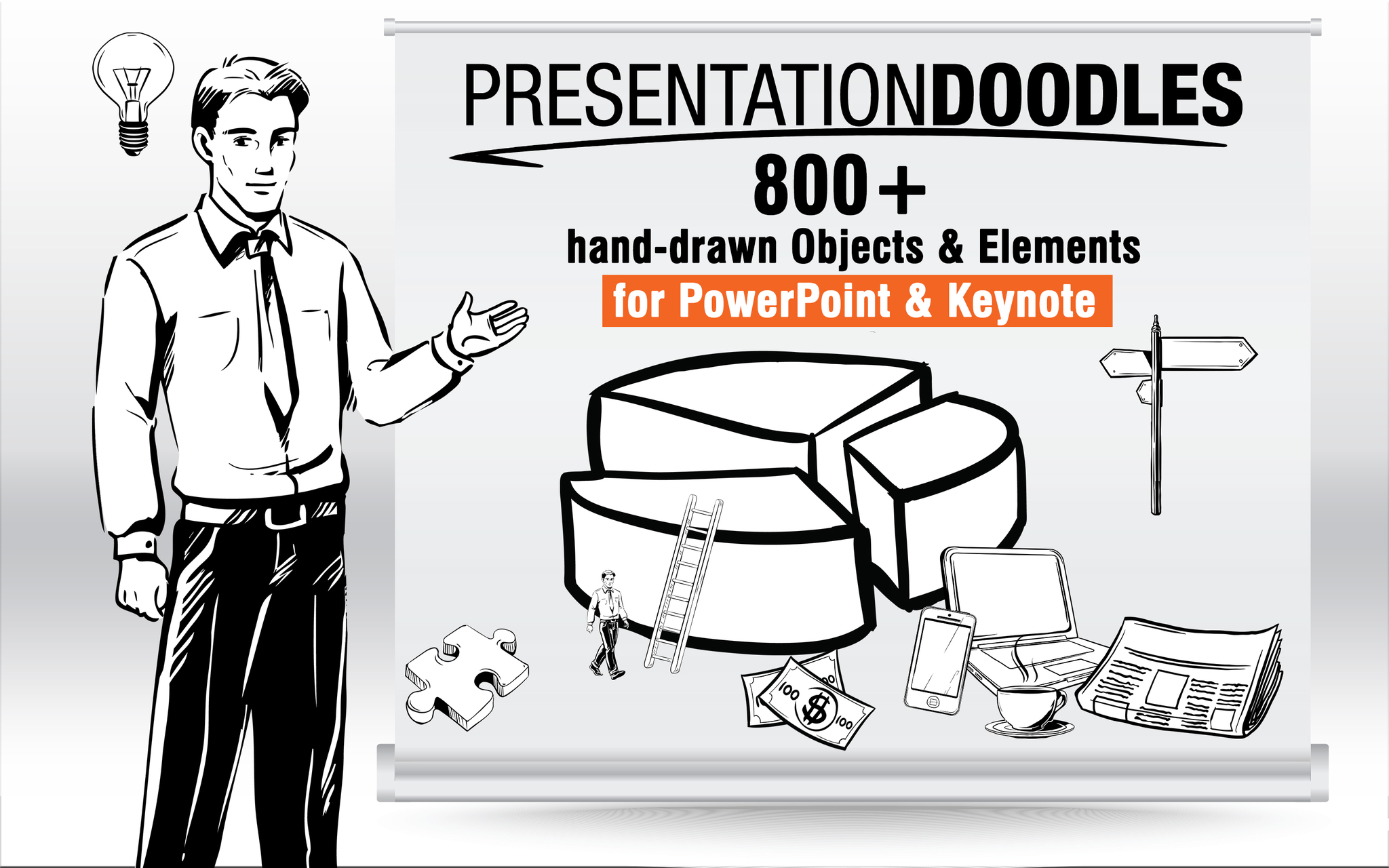 Screenshot 1 for PresentationDoodles for PowerPoint and Keynote