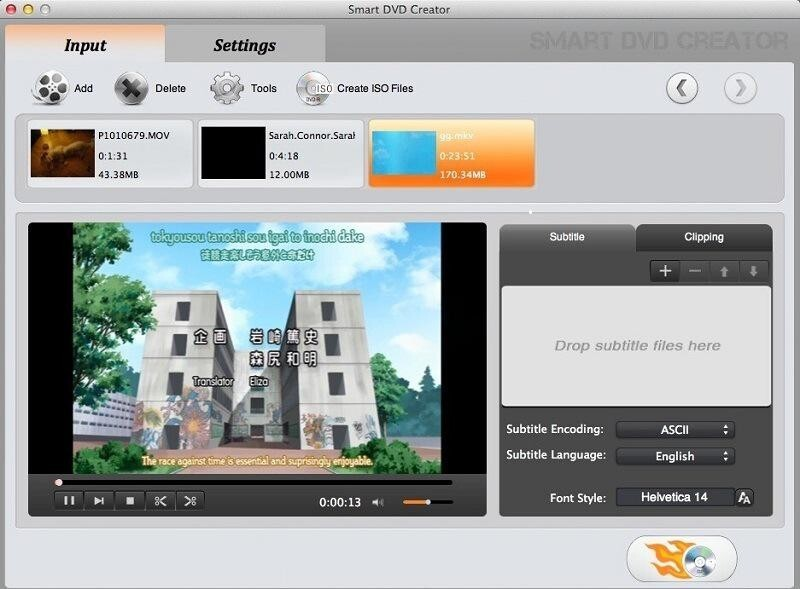 Screenshot 1 for Smart DVD Creator