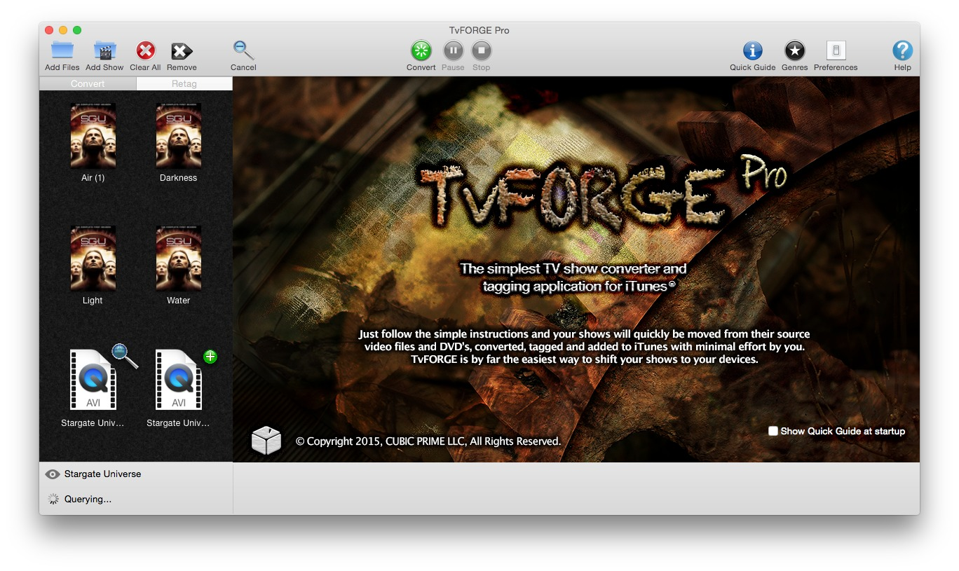 Screenshot 2 for TvFORGE Pro