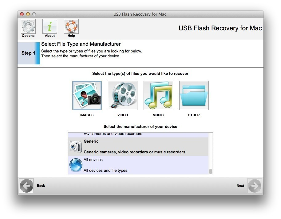 Screenshot 1 for USB Flash Recovery